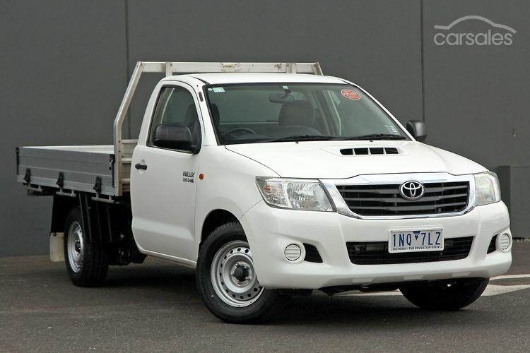 new used toyota hilux cab chassis cars for sale in australia rh carsales com au Toyota Hilux 4x4 88 Toyota Hilux