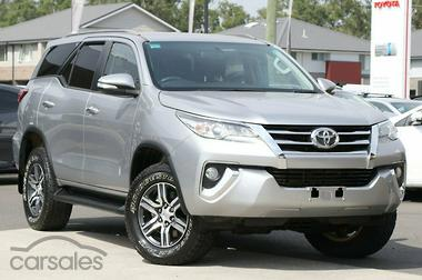 New Used Toyota Fortuner Cars For Sale In Australia Carsales Com Au