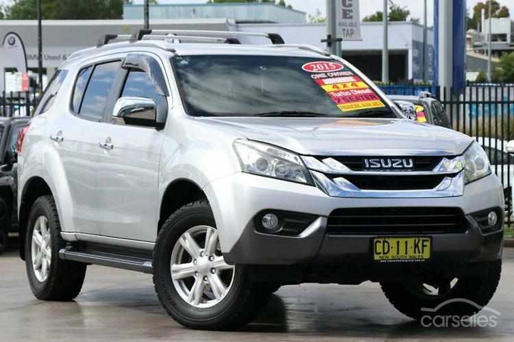 New Used Isuzu Mu X Ls T Silver Offroad 4x4 Cars For Sale In