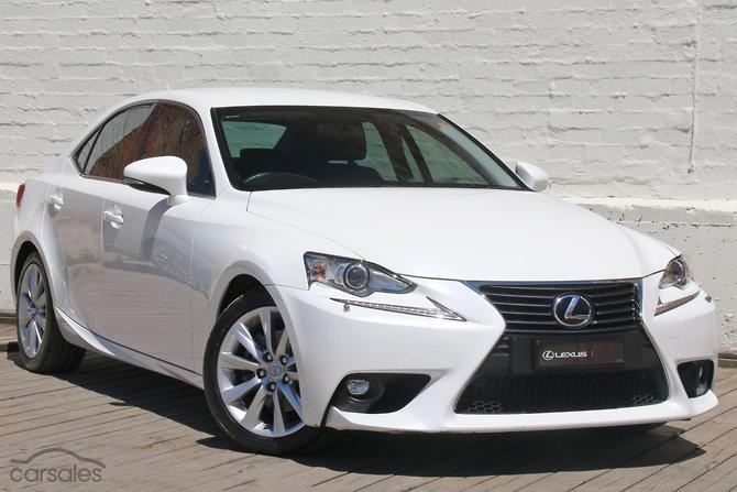 new & used lexus is250 white family cars for sale in australia