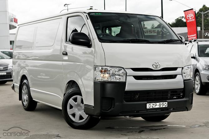 New Used Toyota Hiace Automatic Cars For Sale In Australia