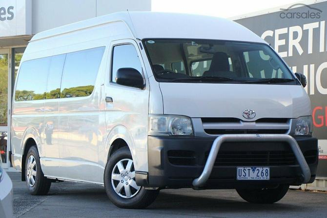 1c4a1c19e1 New   Used Toyota Hiace Commuter cars for sale in Melbourne Victoria ...