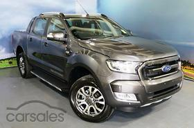 2017 Ford Ranger Wildtrak PX MkII Manual 4x4 MY18 Double Cab