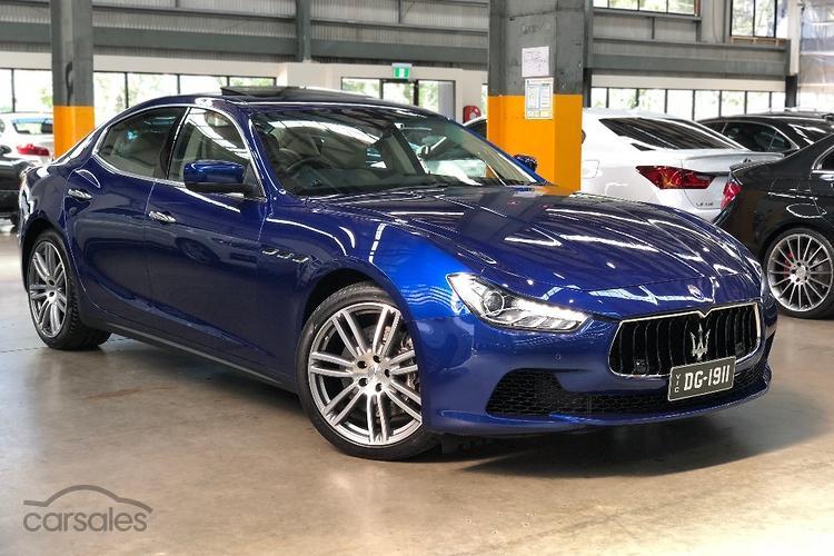 new & used maserati ghibli cars for sale in melbourne victoria