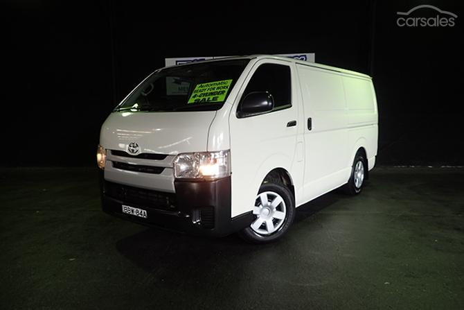 New  Used Toyota Hiace cars for sale in Australia  carsalescomau