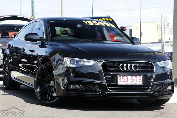 New Used Audi A Black Cars For Sale In Queensland Carsalescomau - Audi 5