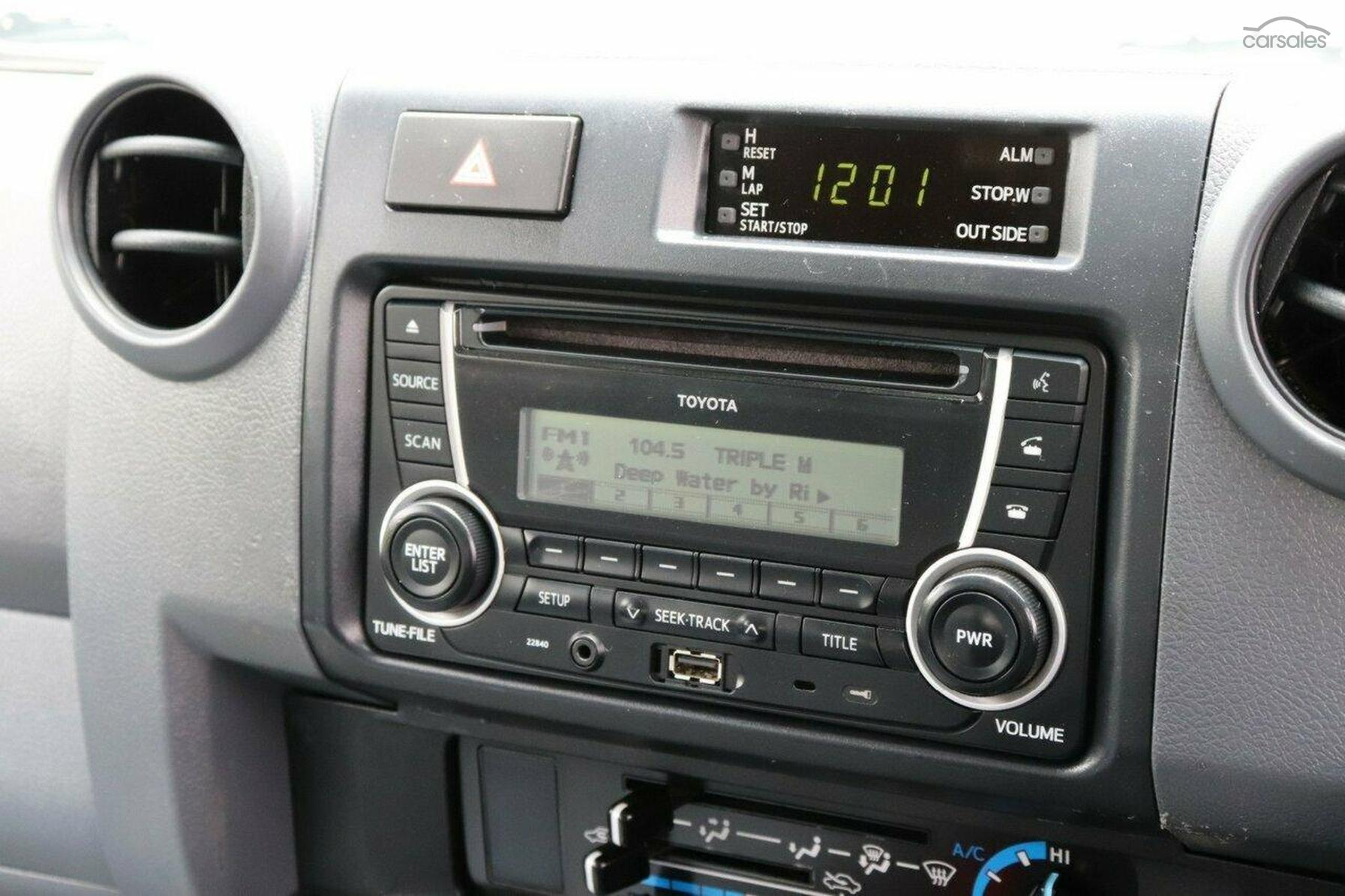 2015 Toyota Landcruiser GXL Troopcarrier Manual 4x4-OAG-AD