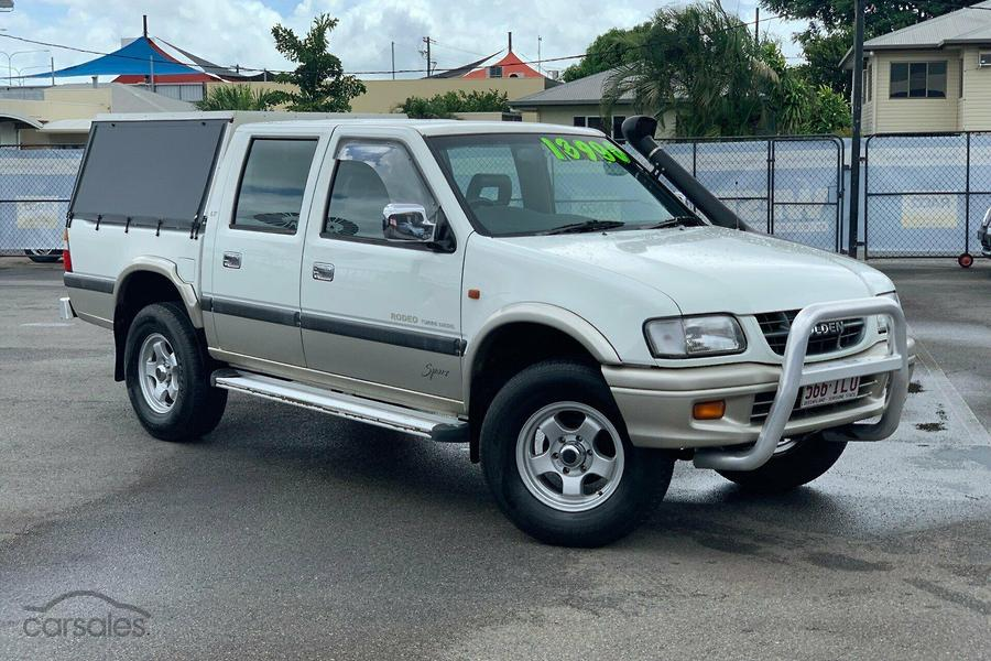 2001 Holden Rodeo LT Sports TF R9 Manual 4x4-OAG-AD-17026140