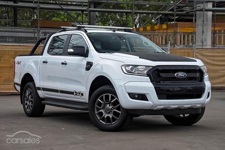 Ford Ranger White 2017 >> New Used Ford Ranger Fx4 White Cars For Sale In Australia