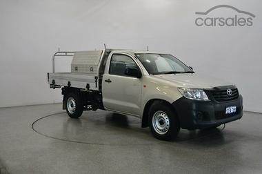 010f8fc3fe8040 New   Used Toyota Hilux Workmate Silver Tradie cars for sale in ...