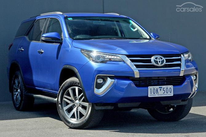New Used Toyota Fortuner Cars For Sale In Victoria Carsales Com Au
