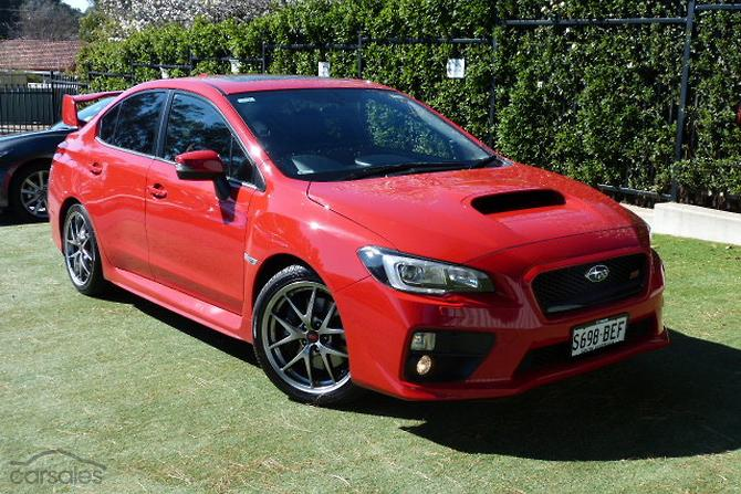 new used subaru wrx sti premium cars for sale in australia