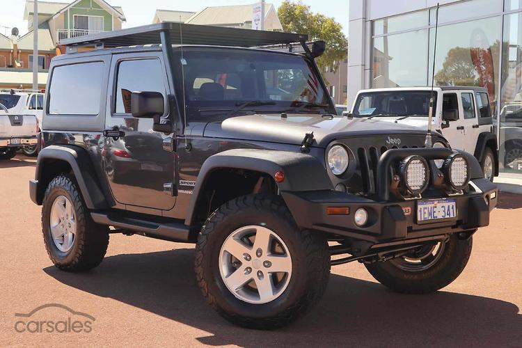 New Used Jeep Wrangler Jk Diesel Cars For Sale In Perth Western
