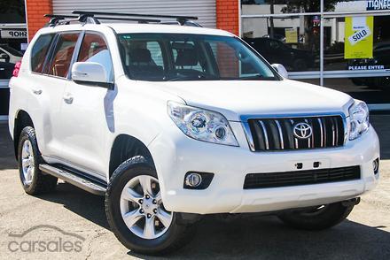 2011 Toyota Landcruiser Prado GXL Auto 4x4