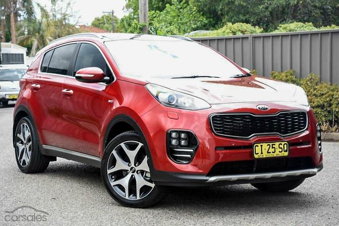 New Used Kia Sportage Red Cars For Sale In Australia Carsales