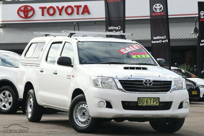 2013 toyota hilux sr manual 4x2 my14 double cab