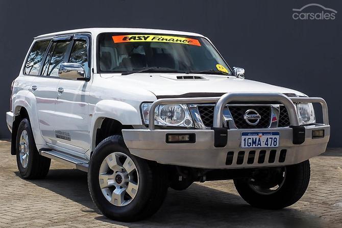2013 Nissan Patrol ST Y61 Auto 4x4