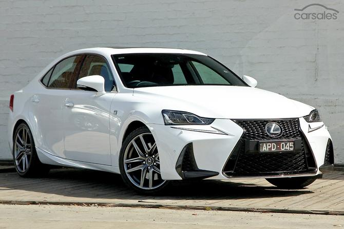 2017 Lexus Is350 F Sport Auto