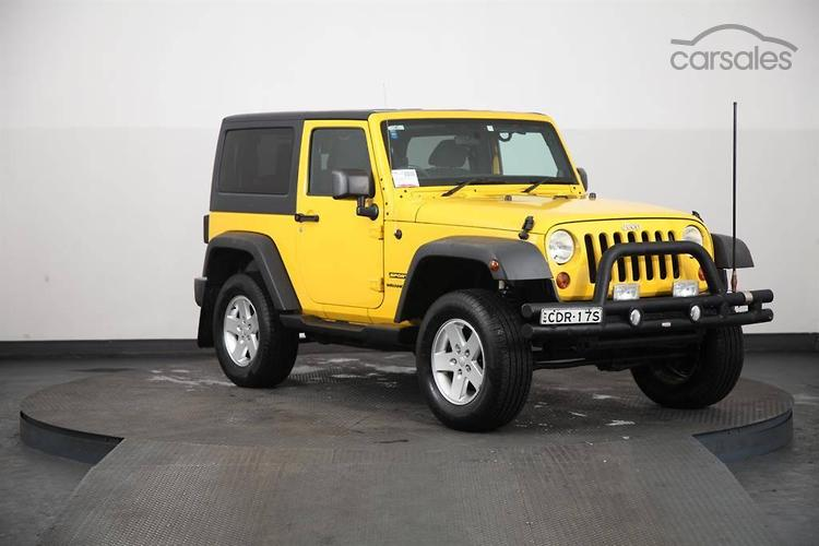 new used jeep wrangler 2 doors cars for sale in australia rh carsales com au 2004 Jeep Wrangler Sport Interior 2007 Jeep Wrangler Sport