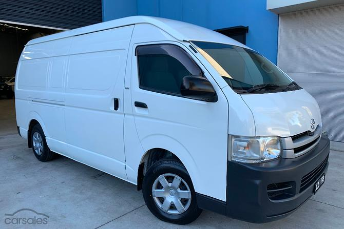 254445135b New   Used Toyota Van 4 cylinders cars for sale in Australia ...