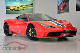 new & used ferrari cars for sale in melbourne victoria - carsales.au
