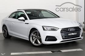 New Used Audi A White Coupe Cars For Sale In Australia Carsales - White audi a5