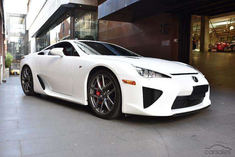 Lexus lfa carsales