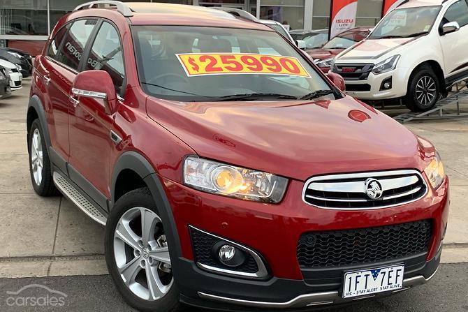 New Used Holden Captiva Cars For Sale In Ringwood East Maroondah