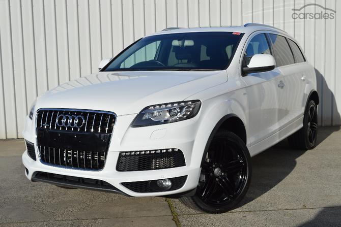 New Used Audi Q SUV Cars For Sale In Victoria Carsalescomau - Used cars for sale audi q7
