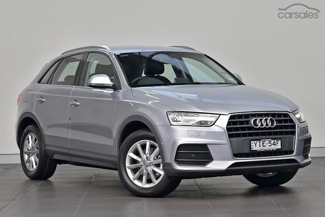 New Used Demo Audi Q Silver Cars For Sale In Australia Carsales - Audi q3 for sale