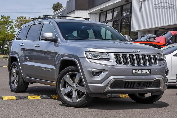 2014 Jeep Grand Cherokee Overland Auto 4x4 MY14