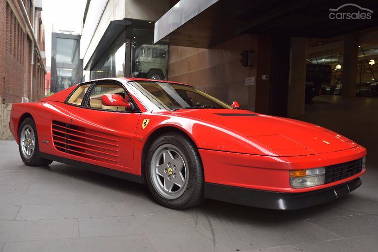 1990 Ferrari Testarossa Manual