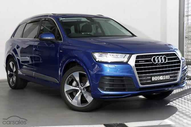 New Used Audi Q Cars For Sale In Zetland Council Of The City Of - Used cars for sale audi q7