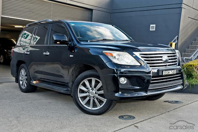 New Used Lexus Lx570 Cars For Sale In Australia Carsales