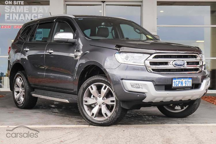 New Used Ford Everest Cars For Sale In Perth Western Australia