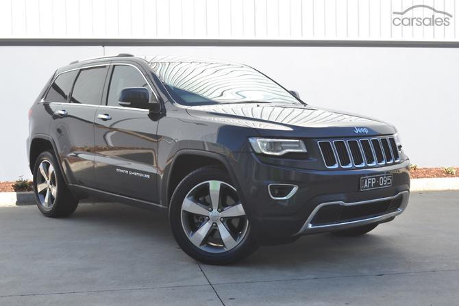 2017 Jeep Grand Cherokee Limited Auto 4x4 My14