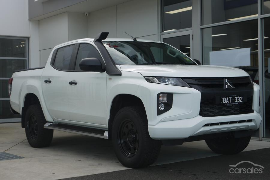 2018 Mitsubishi Triton GLX+ MR Manual 4x4 MY19 Double Cab