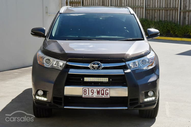 Toyota kluger second hand