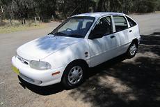 1998 Ford Festiva GLXi WF Auto