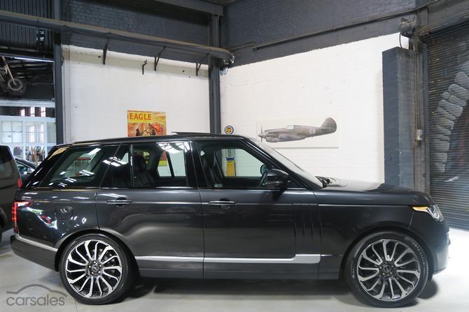 2017 Land Rover Range V8sc Vogue Se Auto 4x4 My15 5