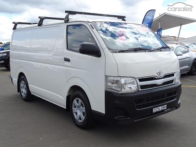 Toyota van for sale nsw