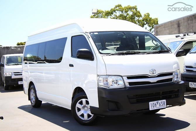 New Used Toyota Hiace Cars For Sale In Australia Carsales Com Au