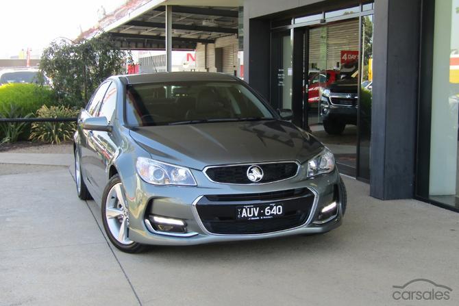 2017 Holden Commodore Sv6 Vf Series Ii Auto My16