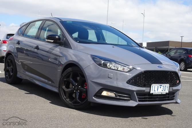 2018 Ford Focus St Lz Manual