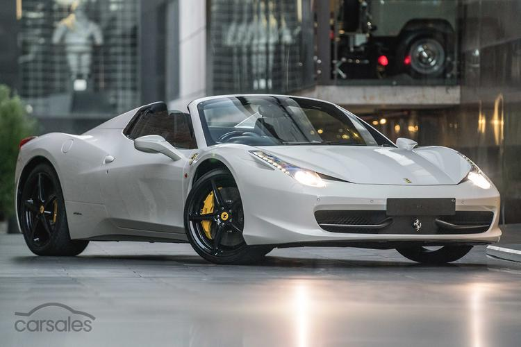 Awesome 2012 Ferrari 458 Spider Auto