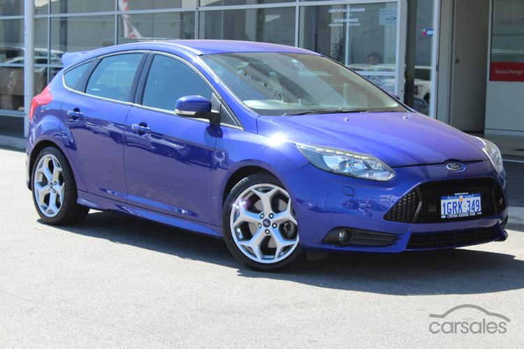 New Used Ford Focus St Blue Cars For Sale In Australia Carsales