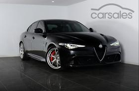 new & used alfa romeo giulia black cars for sale in australia