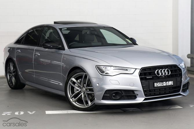 2017 Audi A6 Black Edition Auto Quattro My18