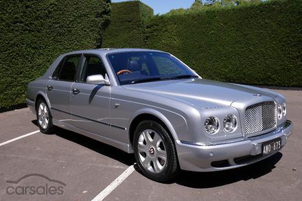 2005 Bentley Arnage R Red Label Auto