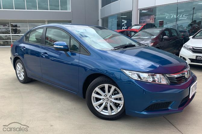 New Used Honda Civic Blue First Car Cars For Sale In Australia
